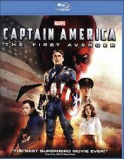 Captain America: The First Avenger Blu-ray Disc, Brand New, Sealed! Region Free