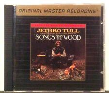 JETHRO TULL - Songs from the Wood - Rare 24k GOLD Disc CD - MFSL udcd OMR MoFi