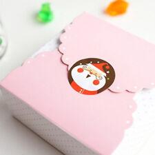 96x joyeux Noël badge autocollant sceau enveloppe cadeaux