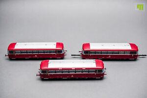 H0 Roco - Schienenbus 3-teilig DB //1D_090