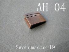 32 mm Old Copper Anodized Ha Slot Alloy Habaki - Japanese Katana Wakizashi Tanto