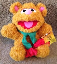 Vintage 1987 Christmas McDonalds Baby Fozzie Best Plushie - With Tags