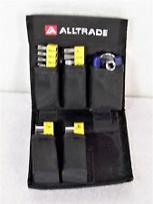 Alltrade Portable 39 Piece Driving Set, Can Attach to Belt, Small and Compact