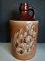 Vtg Mid Century Brown Mc Coy Cookie Jug Cookie Jar  11""