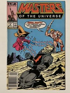 Masters Of The Universe #9 (SEP 87) NEWSSTAND EDITION Marvel Star Comics He-man