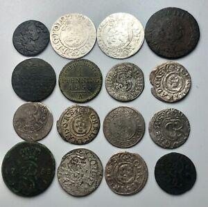 Lot Mix Mit Silber Münzen N.1