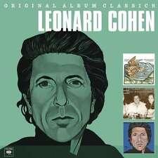Original Album Classics - Box 3 CD - Leonard Cohen Columbia