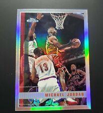 1997-98 Topps Chrome Refractor Michael Jordan #123 Guaranteed Plus Sealed Box...