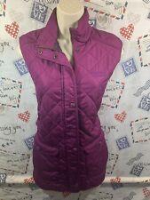 Purple Quilted Regatta Gillet/ Bodywarmer Size 12