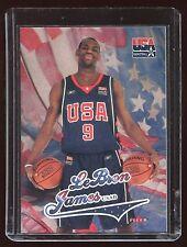 2004 Fleer USA USAB LeBron James Team USA (Cleveland Cavaliers)