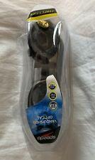 Speedo Vanquisher Optical Swim Goggle, Smoke -2.50 Brand New
