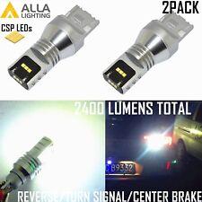 Alla Lighting 7440 Back Up,Turn Signal,Center High Brake,Bright White Light Bulb