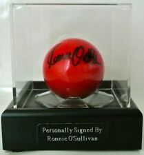 Snooker/Pool/Billiards Balls Memorabilia