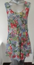 Round Neck Mini Casual Floral Dresses for Women