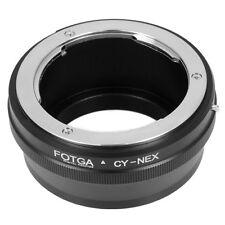 Contax Yashica CY Objektiv Lens Adapter für Sony Alpha A7 Nex 7 6 5 5N 3 3VG10E