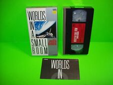 Jansen / Barbieri – Worlds In A Small Room 1985 VHS Video Tape VERY RARE Japan
