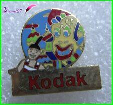 Pin's KODAK Toute les couleurs du Monde En Asie CARNAVAL MASQUE VENISE  #E1