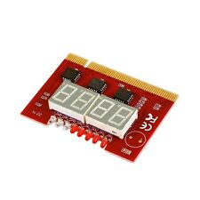 4 Digit Computer Motherboard LED Analysis Diagnostic Test POST Card PCI Board