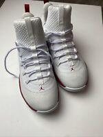 SZ 8 Nike Air Jordan Ultra Fly 2 Low B Ball Shoes White Red AH8110-101 Men's NEW