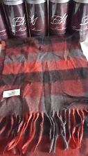 ENZO MANTANANI 100% CASHMERE SCARF  NEW IN PACKAGING.