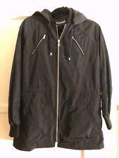🔥 Express Windbreaker Hooded Jacket Anorak Black size Medium M