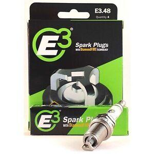 E3 Spark Plugs E3.48 - Set of 4 Spark Plugs