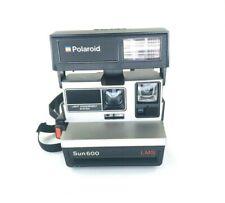Vintage Polaroid Sun 600 LMS Instant Film Flash Camera Untested