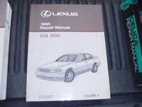 OEM GENUINE 1995 Lexus GS300 Factory Service Shop Repair Manual Vol 1 RM406U1