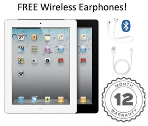 Apple iPad 3rd Gen 16GB 32GB 64GB , Wi-Fi + Cellular (Unlocked), Black/White