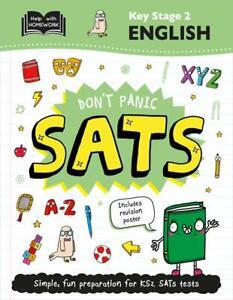 Key Stage 2 English: Don't Panic SATs (Help With Homework), Books, Igloo, New co