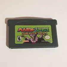 Mario Luigi Superstar Saga -GBA (Nintendo Gameboy Advance), Cart only!