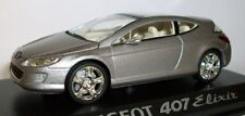 1:43 Norev Concept Car Peugeot 407 Elixir Metallic Grey 474730 NEW