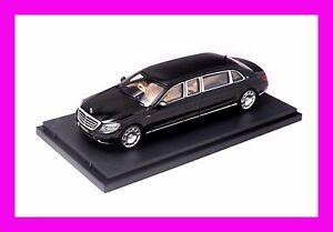 MAY 2021 Mercedes Benz Maybach S600 Pullman STANCE HUNTER 1/64 Black