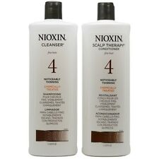 Nioxin 4 DUO with Cleanser Shampoo & Scalp Therapy Conditioner 2 x 33.8 oz