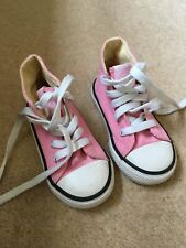 Dunlop Pink Hi Tops Baby Girl Trainers Size 6