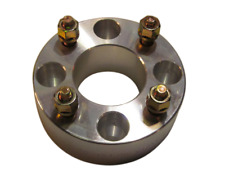 "4x100 to 4x100 US Wheel Spacers Hub Adapters 1.5"" Thick 12x1.5 Lug Studs x4 Rims"
