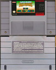 Super Mario All-Stars & World - SNES Super Nintendo - Tested - Cartridge Only