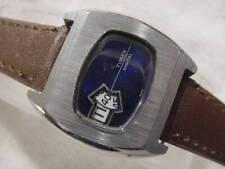 Vintage antique Art Deco / Space Age TIMEX JUMP HOUR mens watch
