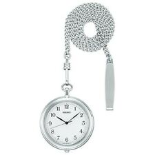 2019 NEW SEIKO WATCH pocket watch with silver case chain SAPP007 from japan