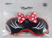 Disney Parks Minnie Mouse Costume Eye Mask Sleep Cover Plush - NEW