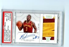 Dion Waiters 2012-13 Panini National Treasures Rookie Patch Auto #D /122 PSA 8