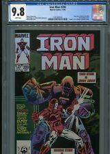Iron Man #200   (New Iron Man armor)   CGC 9.8  WP