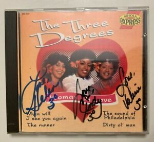 CD THE THREE DEGREES WOMAN IN LOVE // SIGNE