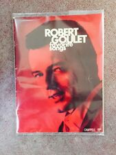 Robert Goulet Favorite Songs - 1960'sChappel Songbook - Very Rare - Out of Print