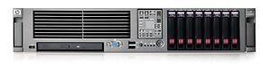 HP PROLIANT DL380 G5 2 x QUAD CORE E5345 16GB RAM,2x PSU,2X 146GB SAS DVD/CDRW
