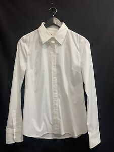 True Religion women's Blouse Shirt size S Petite Cotton Stretch White