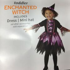 ENCHANTED WITCH 18-24 Months Toddler Girl Halloween Dress Costume