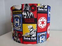 Star Wars Red/*Blue Fighter Squad Boba Fett*Darth*Trooper Glow-In-Dark Lampshade