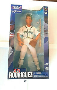"""Alex Rodriguez - 1998 Starting Lineup - Fully Poseable Figure About 11 1/2"""" Tall"""