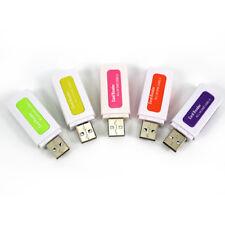 Mini Size USB 2.0 Micro SD TF M2 MS T-Flash Card Reader Adapter High Speed HUB